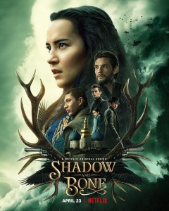 """""""Shadow and Bone"""" Netflix TV Series official poster"""