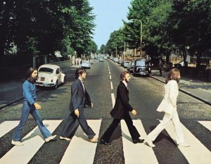 "The Beatles, ""Abbey Road"" album cover"